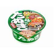 【代引不可】maruchan マルちゃん 緑の豆たぬき 天そば 東 カップ 45g x12
