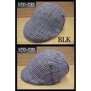 ★2014春夏♪ NEWYORK HAT #6165 LINED PLAID PUB 11880
