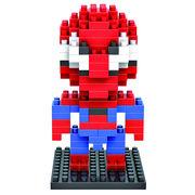 格安☆子供も大人もハマるブロック◆ホビー・ゲーム◆ブロックおもちゃ◆積み木◆玩具◆スパイダーマン