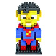 格安☆子供も大人もハマるブロック◆ホビー・ゲーム◆ブロックおもちゃ◆積み木◆玩具◆スーパーマン