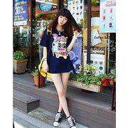 春ファッション/可愛いプリントの半袖Tシャツ♪