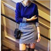 レディースファッション/ラシャブラウス+スカート/セットアップ