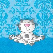 Paper+Design ミニペーパーナフキン  猫