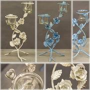 【売切り期間限定値下げ】可愛らしいデザイン【JoliBouquet】ジョリブーケガラスベースTWO♪