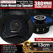 基本モデル カースピーカー PL-1348 2WAY 13cmタイプ MAX380W 自動車 カーオーディオ スピーカー