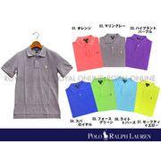 【ラルフローレン】 551488 ボーイズ クラッシック CM ポロ 全7色 メンズ&レディース