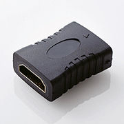 エレコム HDMI中継アダプタ(タイプA-タイプA) AD-HDAAS01BK