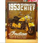アメリカンブリキ看板 1953 Indian Roadmaster