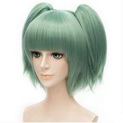 �ÎE���� ���c�� (�V�I�^ �i�M�T)  �ΐF �R�X�v�� �E�B�b�O �ϔM wig cosplay �R�X�`���[��