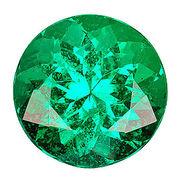 カラーダイヤモンド ブリリアントカット ルース エメラルドグリーン/約1.0-3.3mm