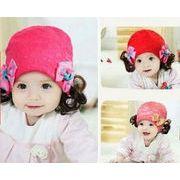 ★同梱でお買得★新作★秋冬★可愛いニット帽子★子供用帽子★4色★