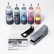 エレコム キヤノン325+326/320+321用詰め替えインクセット THC-326321SET
