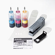 エレコム キヤノン325+326/320+321用詰め替えインクセット THC-326321CSET5