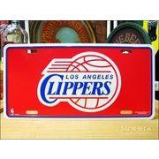 ライセンスプレート NBA LA Clippers
