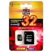 Good-J microSDXCメモリーカード 32GB Class10 G-MICROXC32-C10