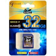 Good-J SDHCメモリーカード 32GB Class10 G-SDHC32-C10