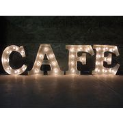 AMERICAN SIGN WITH LIGHT 「CAFE」