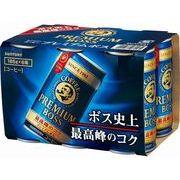 【代引不可】SUNTORY サントリー プレミアムボス 6缶パック 185gX6 x5