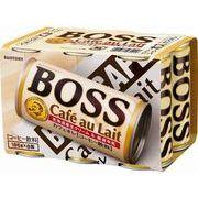 【代引不可】SUNTORY サントリー ボス カフェオレ 6缶パック 185X6 x5