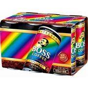 【代引不可】SUNTORY サントリー ボスレインボーマウンテン 6缶パック 185X6 x5
