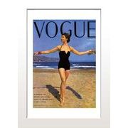 ИVoque's Poster series【Vogue Paris Juillet 1953】