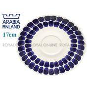 【アラビア】 トゥオキオ ソーサー 17cm ブルー