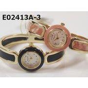 【国内メーカーお買い得品】レディース腕時計 バングルウォッチ 日本製ムーブメント