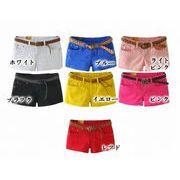 【即納】ファッション超可愛いショートパンツ★全10色★you-xf1-8057【自社工場生産】