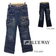 BLUE WAY�@�u���[�E�F�C�@�r���e�[�W�f�j���@�J�[�S�@�t���A�@7�|�P�b�g�@��{���@�S�Q�F