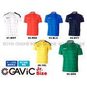 【ガビック】 GA6663 ゲームシャツ 全6色 ジュニア