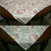 トップクロス/テーブルクロス<薔薇 ローズ アンティーク> 3サイズ