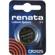 RENATA CR2025 (ECR2025 DL2025 KECR2025-1 NA SB-T14 280-205)/電卓、カーリモコンキーレス