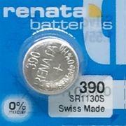 RENATA 390 SR1130S 0%Mercury ※SR1130SWと互換あり