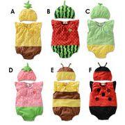 新型★ベビー赤ちゃん 新生児連体服+帽子★カバーオール