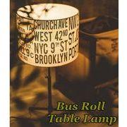 Bus Roll Table Lamp(�o�X���[���e�[�u�������v�j