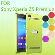 �yXperia Z5 Premium�z�A���~�o���p�[ ���� �t���[�� �y�� ���^�� �y�� ���^ �ϏՌ� �o�b�N�p�l���P�[�X