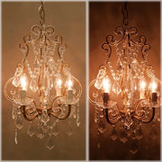 �yGlass Chandelier Orion�z���[���b�p����4���K���X�V�����f���A �I���I��-2 Antique Gold��