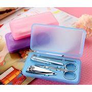 ツメキリ★つめきり★つめ切り/爪磨き/爪やすり 手入れ★ ネイル 工具★高級感のある 爪切りセット