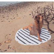 エスニック★ラウンドマット夏新品★大人気ビーチタオル★ラウンドビーチタオル★砂浜タオル