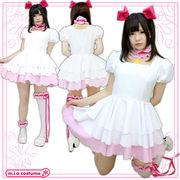 ■送料無料■チェリーガール プラチナ衣装セット 色:白 サイズ:M/BIG ●カードキャプタ