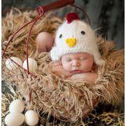 撮影服★赤ちゃんのために★新作登場★帽子★ベビー ニット帽子