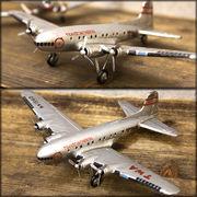 【Good Old Days Aircraft】レトロ調 ヴィンテージ★Aircraft TWA-4★