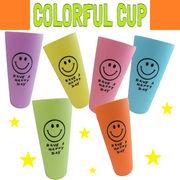 OK:スマイルカラフルカップ【6色アソートセット】