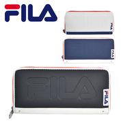 FILA エンボスロゴラウンドファスナー財布