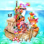 Daisy  ペーパーナプキン クマ・海賊