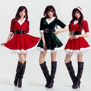 サンタ  Christmas 衣装  コスプレ サンタクロース コスチューム 2set
