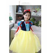 ハロウィン コスプレ衣装子供 女の子 白雪姫風 コスチューム コスプレ 仮装 衣装
