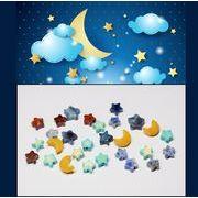 石のパーツ 宇宙モチーフ 石の星 石の月