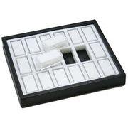 ディスプレイ用品: ルースケース(18個)&収納トレイ 展示用 商談用 l-c-12