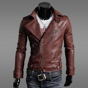 メンズ レザージャケット ジャケット ライダースジャケット 皮革ジャケット